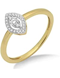 Miore - MF9002R - Bague Femme - Or jaune 375/1000 (9 carats) - Diamants 0.16 cts