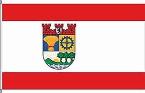 Flagge Fahne Hochformatflagge Lichtenberg historisch - 120 x 300cm