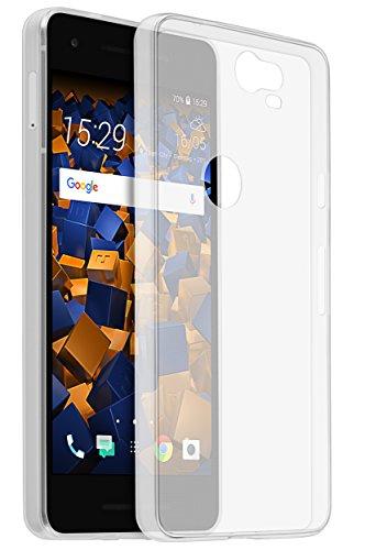 mumbi UltraSlim Hülle für Google Pixel 2 Schutzhülle transparent (Ultra Slim - 0.70 mm)