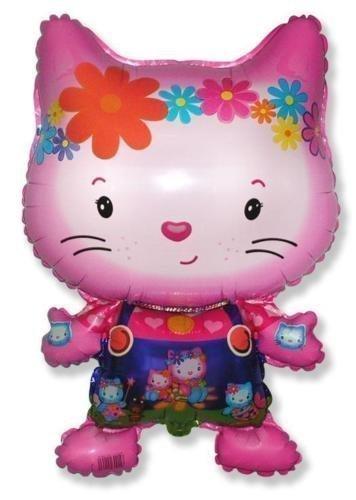 Flexmetal petit chat amis en forme de 26 inch foil balloon
