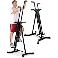 Sportstech Stepper & Machine d'Escalade Verticale 2-en-1 VC300 Grimpeur Vertical Fitness, Simulation d'Escalade, antidérapant et Structure Pliable, idéal pour Les entraînements corporels intensifs