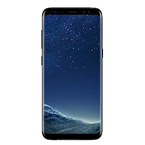 Samsung Galaxy S8 Smartphone débloqué 4G [Import Italie] (Ecran : 5,8 pouces - 64 Go - 4 Go RAM - Simple Nano-SIM - Android Nougat 7.0) Noir Carbone