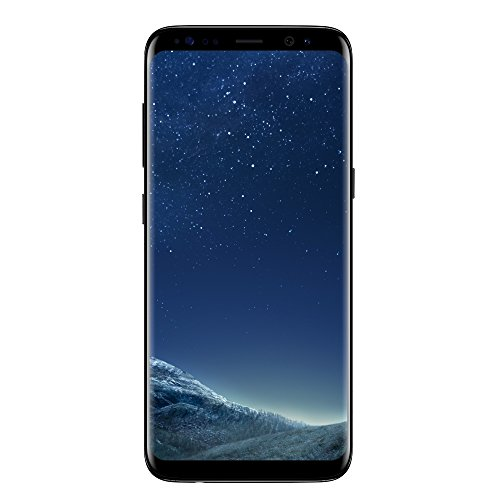 "Foto Samsung Galaxy S8 - Smartphone da 5.8"", 64 GB Espandibili, Nero (Midnight Black), [Versione Italiana]"