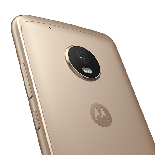 Moto G 5ª Generación Plus   Smartphone libre Android 7 (pantalla de 5.2   Full HD  4 G  cámara de 12 MP Dual Pixel  3 GB de RAM  32 GB  Qualcomm Snapdragon 2.0 GHz)  color dorado   [Exclusivo Amazon]