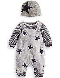 2019 New Year 4pcs Infant Toddler Baby Boy Girl Letter Romper+Pants+Hat+Headbands Outfits Clothes Pyjama Tops FeiliandaJJ Baby Clothing Set