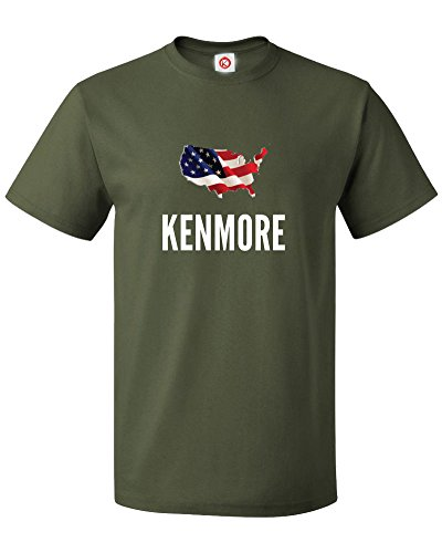 t-shirt-kenmore-city-verde