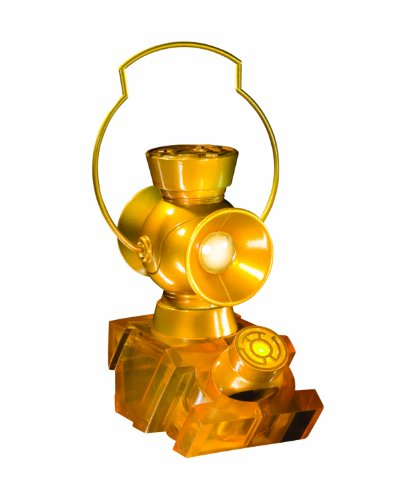 DC Direct DC Comics Blackest Night Replik 1/4 Yellow Lantern Power Battery & Ring