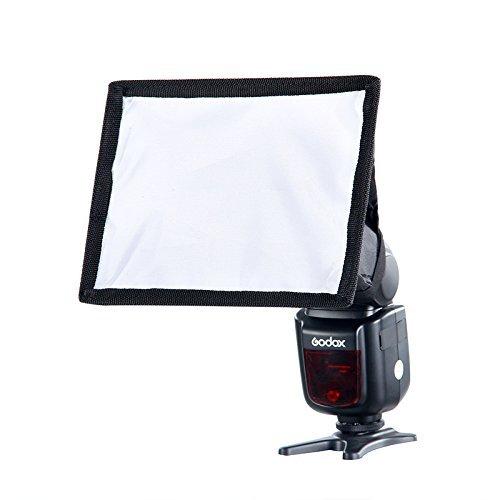 Square Softbox (Godox 20*15cm Portable Universal collapsible Square Flash Mini Softbox for Nikon, Canon, Yongnuo, Godox)