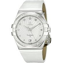 Omega 123.13.35.60.52.001 - Reloj de pulsera mujer, piel