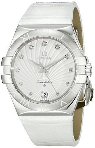 Omega 123.13.35.60.52.001 – Reloj de pulsera mujer, piel