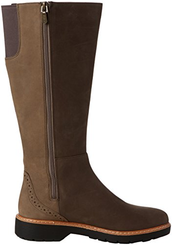 Clarks Ladies Witcombeskygtx Boots Grey (taupe Nubuck)