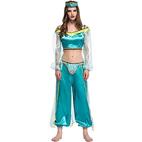 Baihui Frauen-Partei-Klagen Aladdin Jasmine Princess Anime Cosplay Kostüme