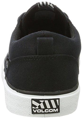 Volcom Recliner Sndl Beige Zehentrenner, Sneakers Basses Homme Noir (Black)