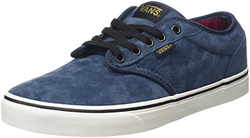 319d30b620ff2 Vans Men's Atwood Low-Top Sneakers, Blue (MTE Flannel/Navy/Marshmallow),  5.5 UK