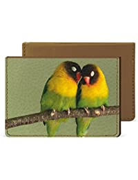 Love Birds Credit Card Wallet By Robobull