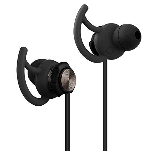 e-bour Ohrhörer Sport für Laufen Fitness Außen GV2 widerstandsfähig gegen Schweiß Ear bequemer Stereo Kopfhörer mit Mikrofon für iPhone 5 6 6plus iPad Laptop Macbook MP3 MP4 Players