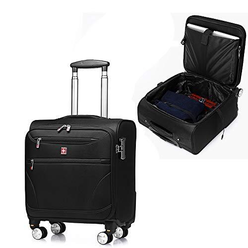 CX TECH 23,62-Zoll-Business Case Rolling Tote Koffer Rolling Laptop-Tasche Handgepäck Langlebig mit 8 Spinner Wheels Koffer für Geschäftsreisende mit Passwortsperre -