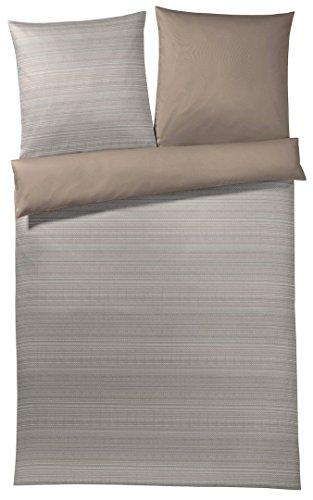 Verstärkte Haut-verschlüsse (Joop! Bettwäsche Woven deep Wood 1 Bettbezug 135x200 cm + 1 Kissenbezug 80x80 cm)