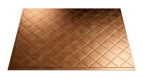 Fasade B54-31 Easy Installation Backsplash Quilted Panel for Kitchen and Bathrooms, 18 x 24, Antique Bronze by Fasade (Fasade Panels Backsplash)