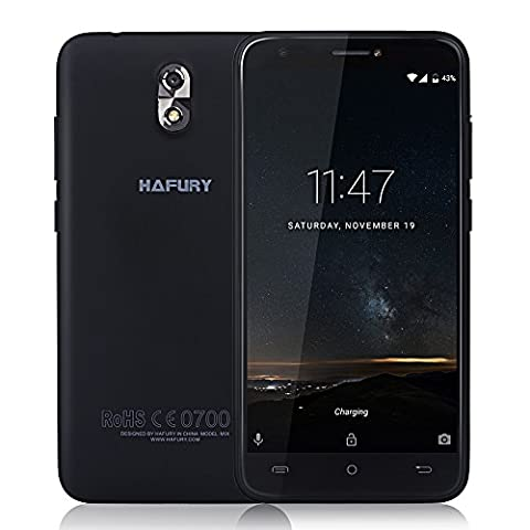 CUBOT HAFURY MIX 3G WCDMA Android 7 Smartphone 5.0 Zoll, Quad-Core 2GB RAM+16GB ROM, 13.0MP + 5.0MP Kamera 2600mAh, Ohne