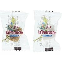 La Perruche - 500 Terrones envueltos individualmente de azúcar blanco y moreno - 2,5 kilos
