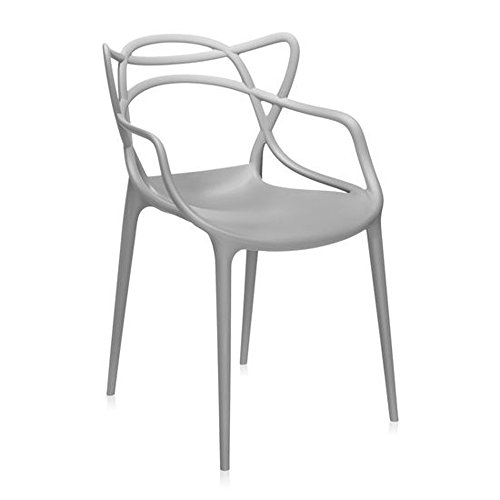 Master Dining Chair in Grey by Kartell