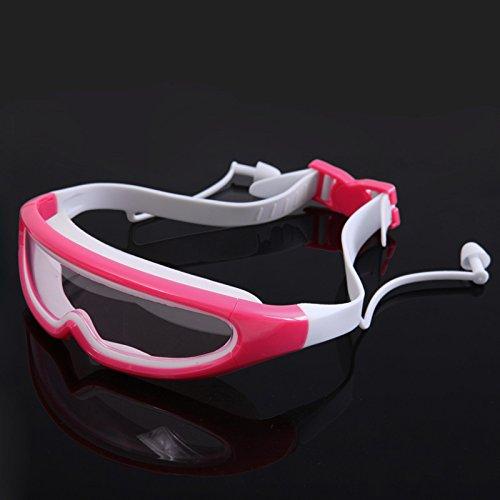 BEAUTOP Große Frame Swimming Glasses Kindern anti-fog-für Kinder, wasserdicht, Schwimmen Brille Brillen, rose, 15x5x3cm
