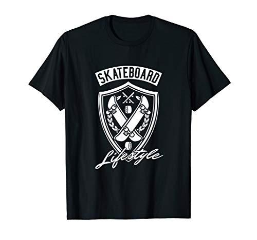 Skateboard Skater T-Shirt  Asphaltsurfer Rollbrett Geschenk