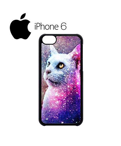 Galaxy Cat Grumpy Kitten Swag Mobile Phone Case Back Cover Hülle Weiß Schwarz for iPhone 6 White Schwarz