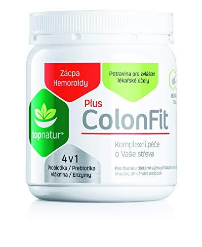 COLONFIT PLUS gegen Verstopfung, Blähungen | Magen Darm Reinigung Enzym Komplex mit Lebender Kulturen für aktive Verdauung