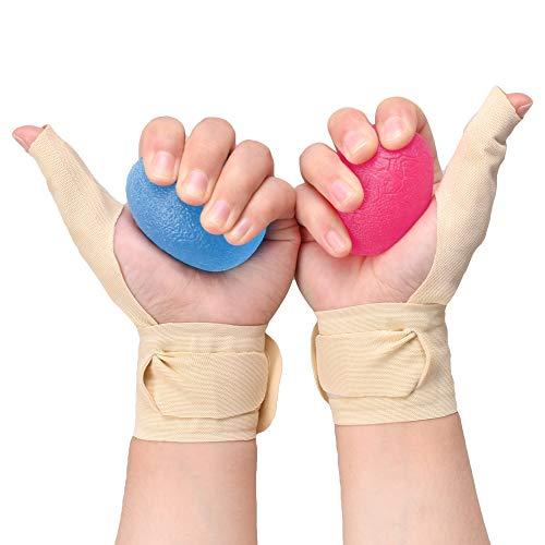 Karpaltunnel-taubheit (Espfree Die Handgelenks-Handgelenk-Schlachtzüge für Männer und Frauen-Schmerzen oder Taubheit verhindern und Achillessehnenentzündungen lindern (Medium (5.5〃- 7.0〃), Beige))