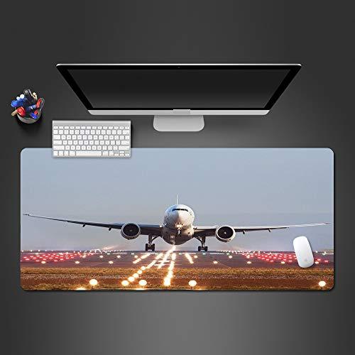 Flugzeug bei Sonnenuntergang Trennung Mauspad Spieler Gummi Mauspad Spiel Mauspad Qualität Mauspad 900x300x2 - Solar Beleuchtete Tastatur