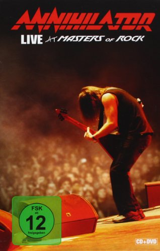 Annihilator - Live At Masters Of Rock (Dvd+Cd)