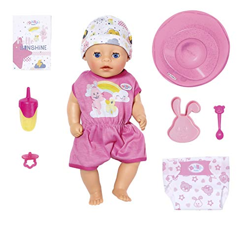 BABY Born 827321 Soft Touch Little Girl 36 cm, bunt -