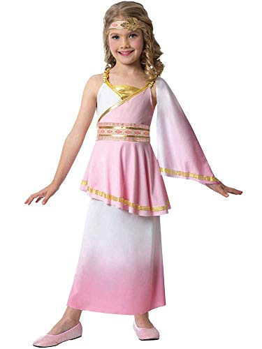 Toga Römischen Childs Kostüm - GIRLS VENUS COSTUME - SMALL (4 - 6 YEARS)
