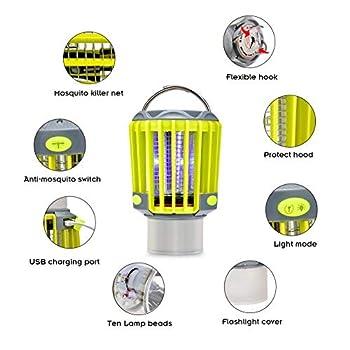 Mosquito Killer lamp Tueur De Moustiques Portable USB sans Rayonnement Enfant Adulte Éclairage Chambre Salon Extérieur Lampe Moustique