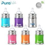 Best Nouveaux bouteilles Born - Pura Kiki Gourde-150ml-Large Aspirateur (Altes Design) Pura Couleur Review