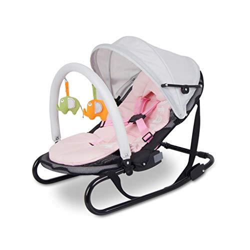 Fauteuil à Bascule Health UK pour bébé - Coussin Pliant pour l'hiver et l'été - Peut être nettoyé avec Une moustiquaire