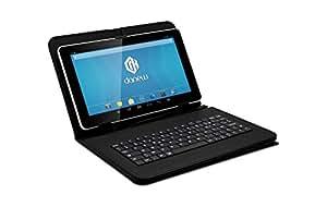 """Danew Pack DSlide 904 Tablette tactile 9"""" (22,86 cm) (4 Go, Android KitKat 4.4, 1 Port USB 2.0, 1 Prise jack, Blanc)"""