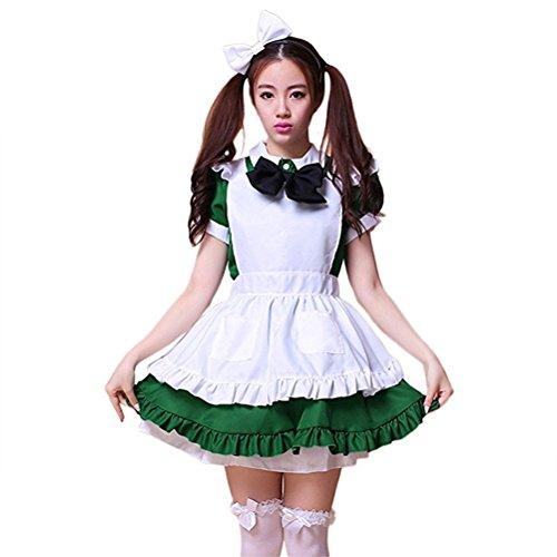 Women's Dress Maid Costumes Cute Lolita French Maid -