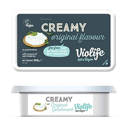 Violife Creamy Original – 200 g Frischkäse Alternative vegan