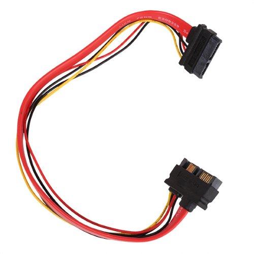 Preisvergleich Produktbild WEONE New Slimline Sata 13pin (6 + 7-Pin) Stecker auf Buchse Verlängerungskabel Notebook-Laufwerk