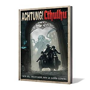 Edge Entertainment- Guía del Investigador para la Guerra Secreta - Achtung! Cthulhu - Español, Color (EEMOAC02)