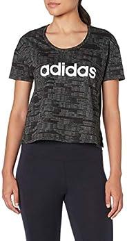 adidas Essentials Desenli Kısa Üst Tişört Kadın