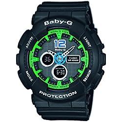 Casio Baby-G Reloj Analógico/Digital de Cuarzo para Mujer con Correa de Resina – BA-120-1BER