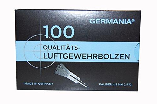 Jehn, Germania 4,5mm Luftgewehrbolzen, Gemischt, 100er Pack
