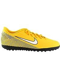 release date: 393e7 44eb8 Nike Jr Vapor 12 Club GS NJR TF, Zapatillas de fútbol Sala Unisex Adulto,  (Amarillo/White/Black 710),…