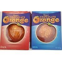 Terrys chocolate orange, dark and milk. Duo Pack. Sold by Dani store