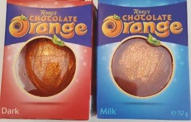 Terrys chocolate orange, dark and milk. Duo Pack.