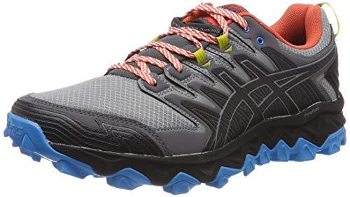 Asics Gel-Fujitrabuco 7, Zapatillas de Running para Hombre, Gris (Stone Grey/Black 020), 42 EU